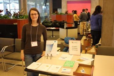 Esther Bowen - Wellness Fair 2011.JPG